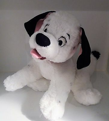 101 Dalmatians Soft plush toy Cuddly Teddy Lucky Puppy Dog Disney Dalmatian