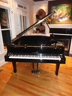 Yamaha baby grand  piano, glossy  black, lowest  price  on  ebay!Free  shipping.