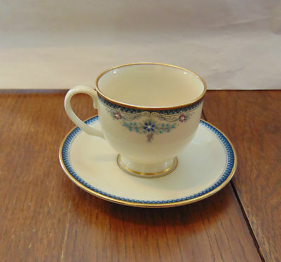 lenox columbia presidential collection cup & saucer