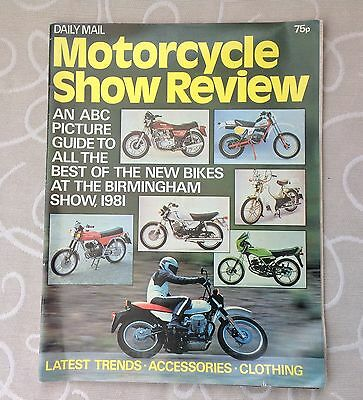 Motorcycle Show Review 1981 Birmingham Show By Daily Mail