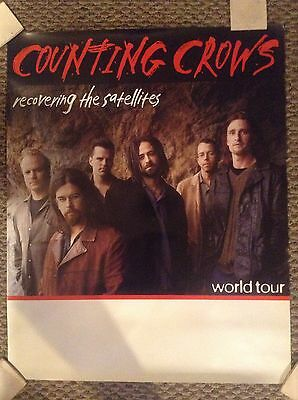 COUNTING CROWS-RECOVERING THE SATELLITES WORLD TOUR 24x30 POSTER