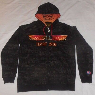 Grateful Dead EGYPT 1978 Hoodie Sweater Jacket XL EXTRA LARGE Limited Edition