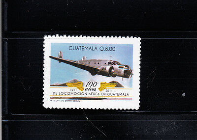 Guatemala 2011 Civil Aviation Sc 655 complete  mint never hinged
