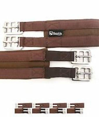 Cotton Padded Girth Elasticated Saddlery Requisite All Sizes 6 Colours