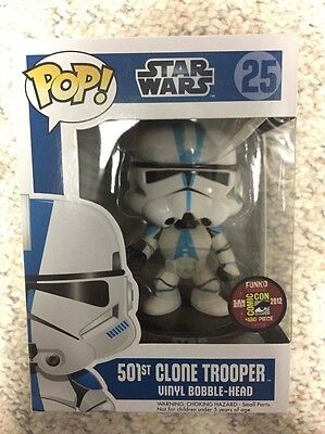 Funko Pop 501st Clone Trooper SDCC Exclusive 480pc Limited Rare Retired