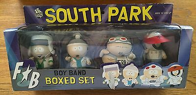 2006 Mezco South Park Fingerbang Boy Band Box Set New Kyle Stan Cartman Kenny