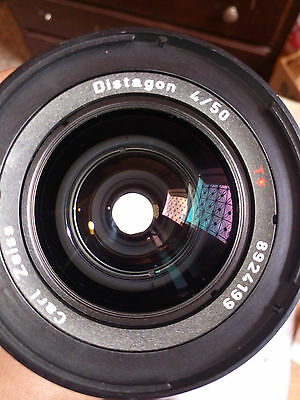 HASSELBLAD CARL ZEISS CFI F 4/50 MM 50mm DISTAGON T FLE PERFECT CONDITION