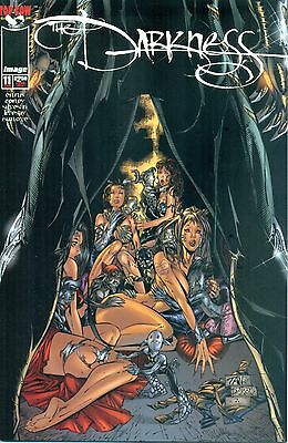 The Darkness #11 By Ennis & Silvestri - Billy Tan Variant - Witchblade NM/M 1998