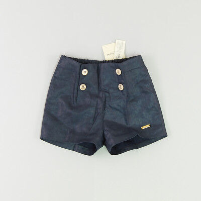 Shorts color Azul marca Pili Carrera 12 Meses
