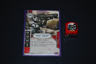 Star Wars Destiny Spirit of Rebellion Legendary Rocket Launcher