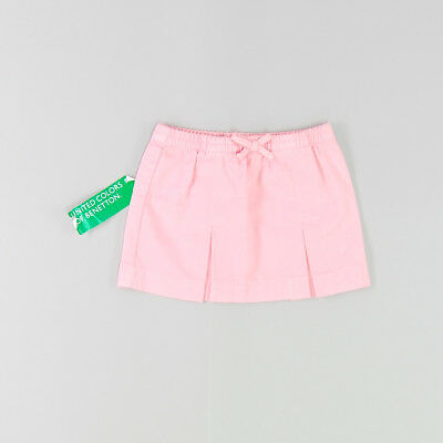 Falda color Rosa marca Benetton 9 Meses