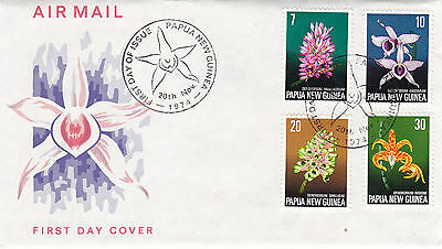 Papua New Guinea 1974 Flora Convention FDC Unadressed vgc