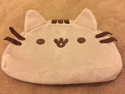 NEW Pusheen Novelty Pencil Case Or Make Up Bag Plush Soft Fluffy