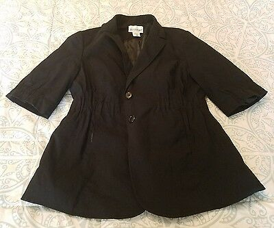 Motherhood Maternity Black Coat/Jacket Size S
