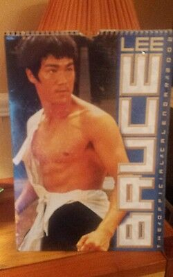 Bruce lee, A3 size 2002 official  calendar new and sealed.
