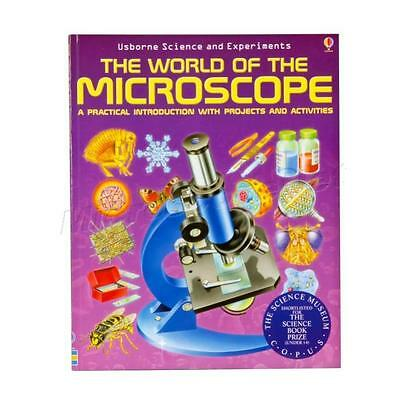 The World of The Microscope Book (Science and Experiments)