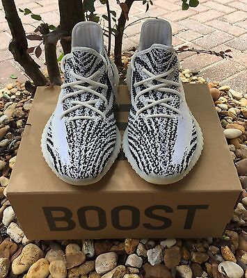 Adidas Originals Yeezy Boost 350 V2 Zebra CP9654 100% Authentic