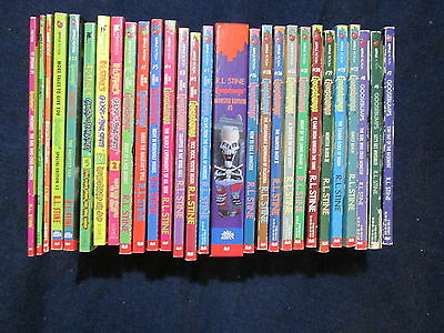 28 Goosebumps Give Yourself Ghost of Fear Street Original PB Books R L Stine A44