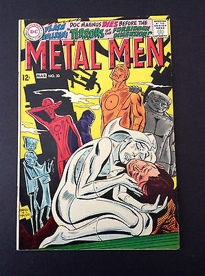 Metal Men #30 VG Terrors Of The Forbidden Dimension