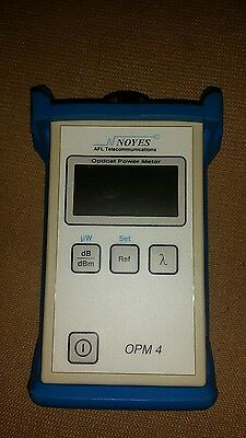 Noyes optical power meter opm4 fiber optic cable tester