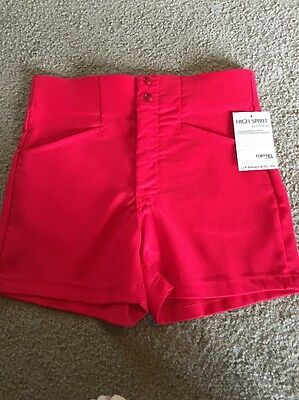 NWT Men's Swingster Vintage Coaches Shorts RED Medium