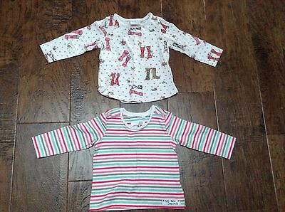 next baby girl tops 9-12 months