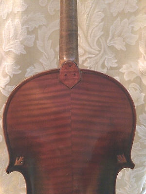 Old  4/4 antique French violin- F. Barbe