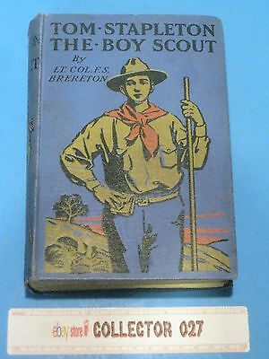 Boy Scout Book Tom Stapelton The Boy Scout Dedicated & Forward Baden Powell