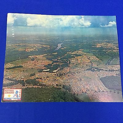 """Boy Scout 1964 National Jamboree Aerial View Poster 11"""" x 14"""" On Card Stock"""