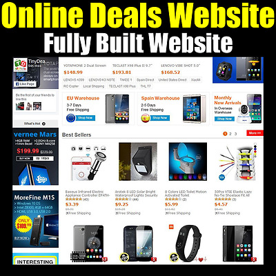 Website - Ecommerce - Internet Business - Online Based - For Sale - Fully Built