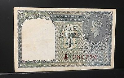 India Banknote P25b Red Serial #