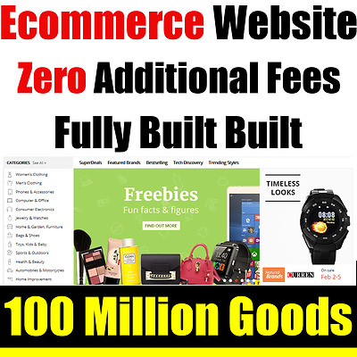 Website - Ecommerce Business - Online Based - Internet - For Sale - Fully Built