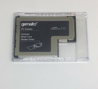 Gemalto PC Express Compact Smart Card Reader Writer HWP114012E