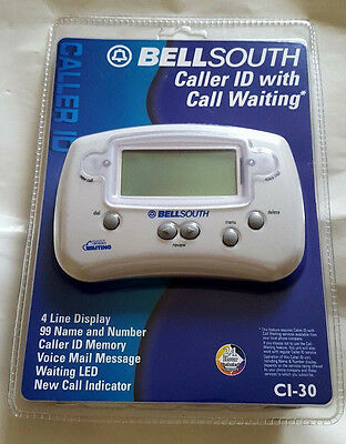 Bell South Caller ID with Caller Waiting CI-30 New
