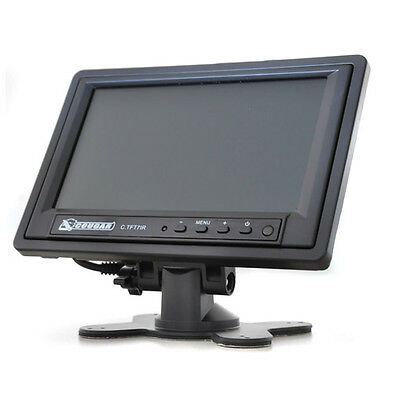"[B-Ware] 18Cm (7"") Tft Auto Lcd Monitor Video Dvd Tv Display Av"