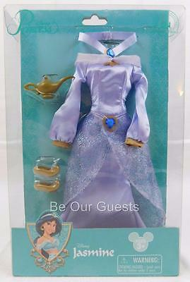 Disney Parks Princess Dress Jasmine Aladdin Outfit New for 14 inch Doll Costume
