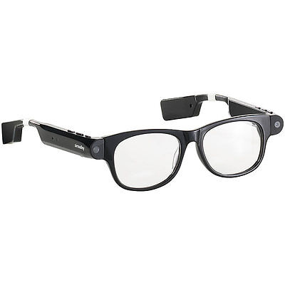 simvalley MOBILE Smart Glasses SG-101.bt mit Bluetooth (refurbished)