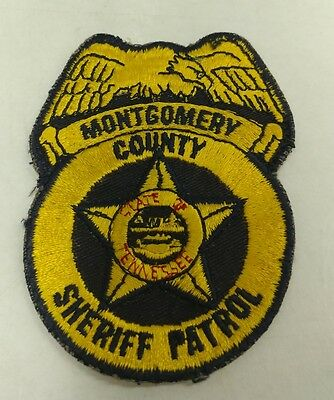 Montgomery County Texas Sheriff's Dept Patrol Patch EXTREMELY RARE