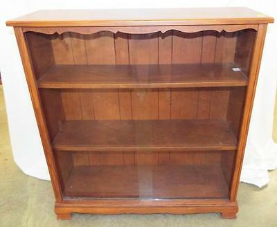 Bookcase With Sliding Glass Doors Lot 4190A