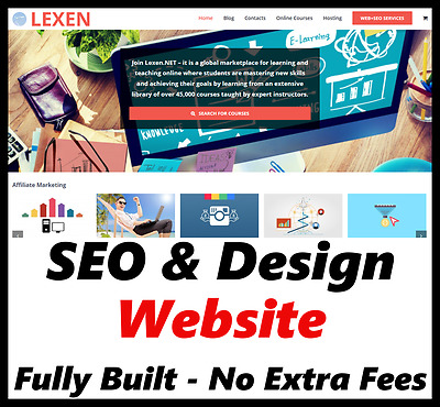 Website - Online Products - Internet Business - Money - For Sale - Fully Built