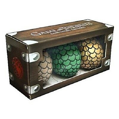 Game of Thrones Plush Dragon Egg Clip-On Box Set 2014 SDCC NYCC Exclusive