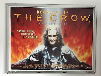 The Crow Brandon Lee ORIGINAL UK QUAD CINEMA POSTER