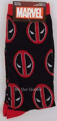 Loot Crate Exclusive Marvel Deadpool Mens Crew Socks New Lootcrate