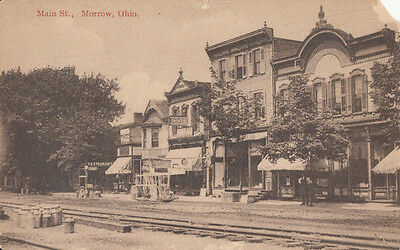 1910s Morrow Ohio OH Main Street