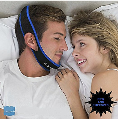 Adjustable Anti-Snoring Chin Strap Instant Snore Relief Stop Snoring Solution