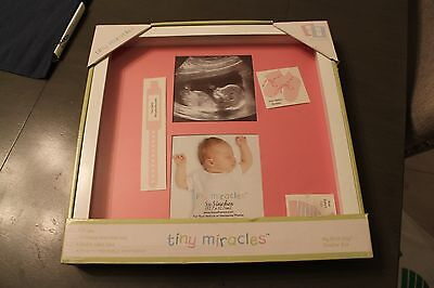 Baby keepsake shadow box frame NEW IN BOX NIP