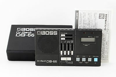 Boss Dr. Beat DB 66 Electronic Metronome W/Case Excellent+ From Tokyo Japan