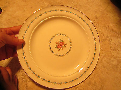 HALL CHINA HARMONY HOUSE MOUNT VERNON 4 Dinner Plates