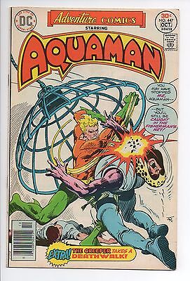 Adventure Comics #447 Aquaman DC 1976