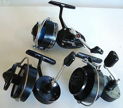 MITCHELL 304,304, and 300A SPINNING REELS VINTAGE